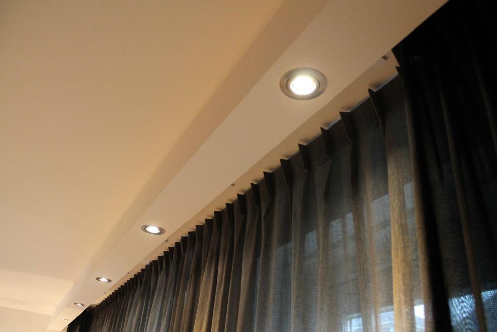 Koof Met Inbouwspots Eigen Huis En Tuin Plafond Decor Plafondontwerp Slaapkamer Verlichting