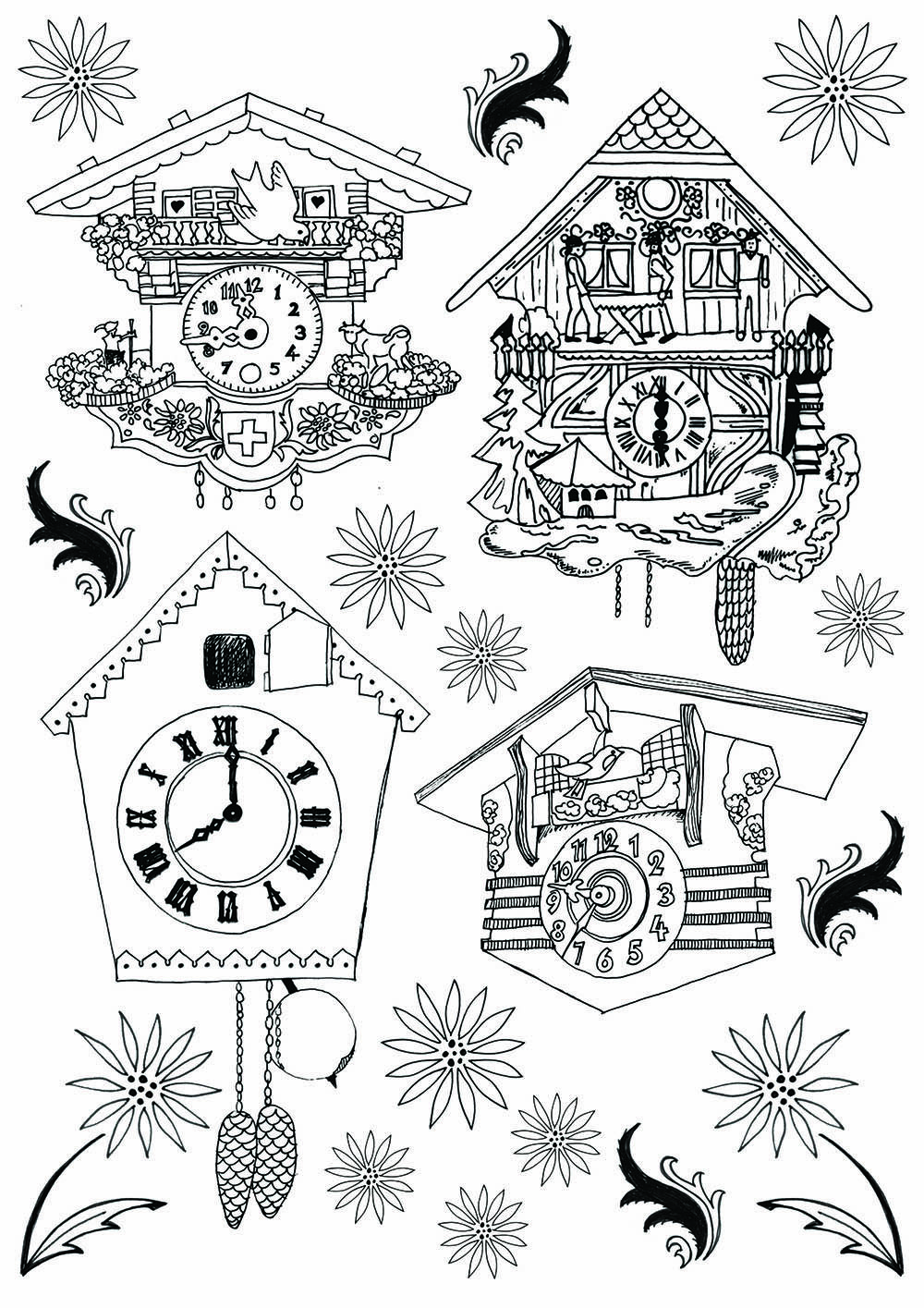 C Is For Cuckoo Clock