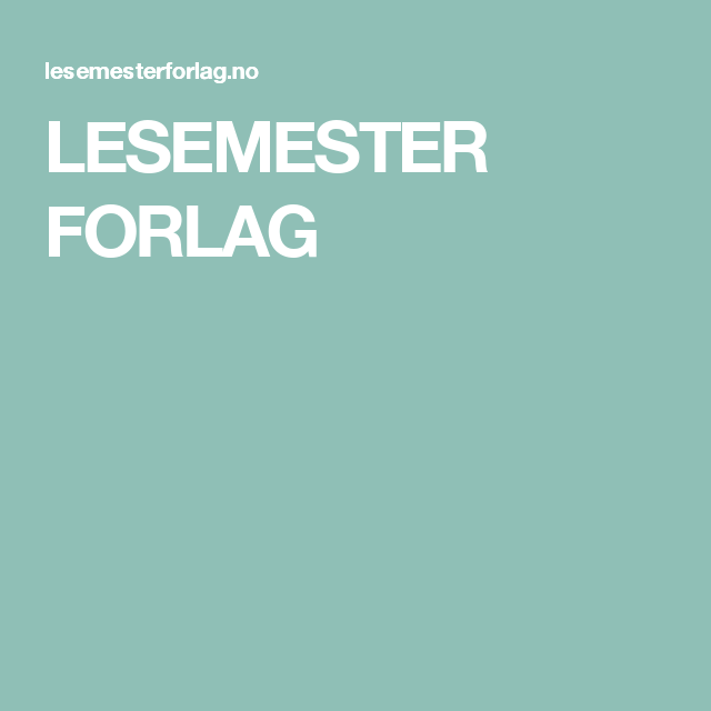 LESEMESTER FORLAG