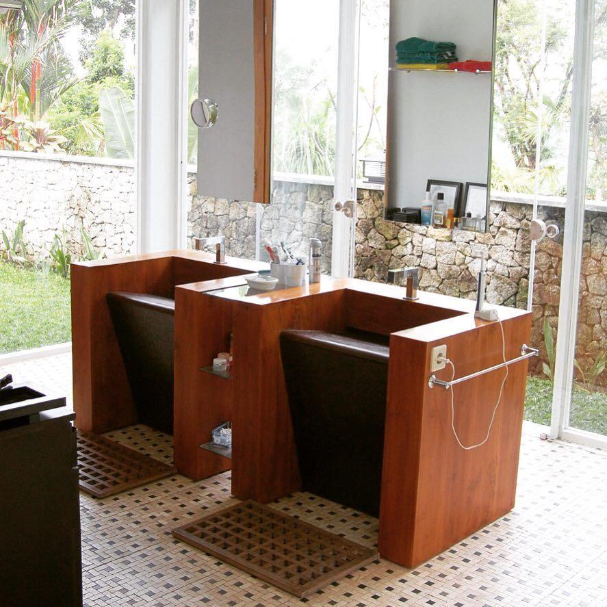 Bathroom by Kohe Design #bali • Furniture manufacturer