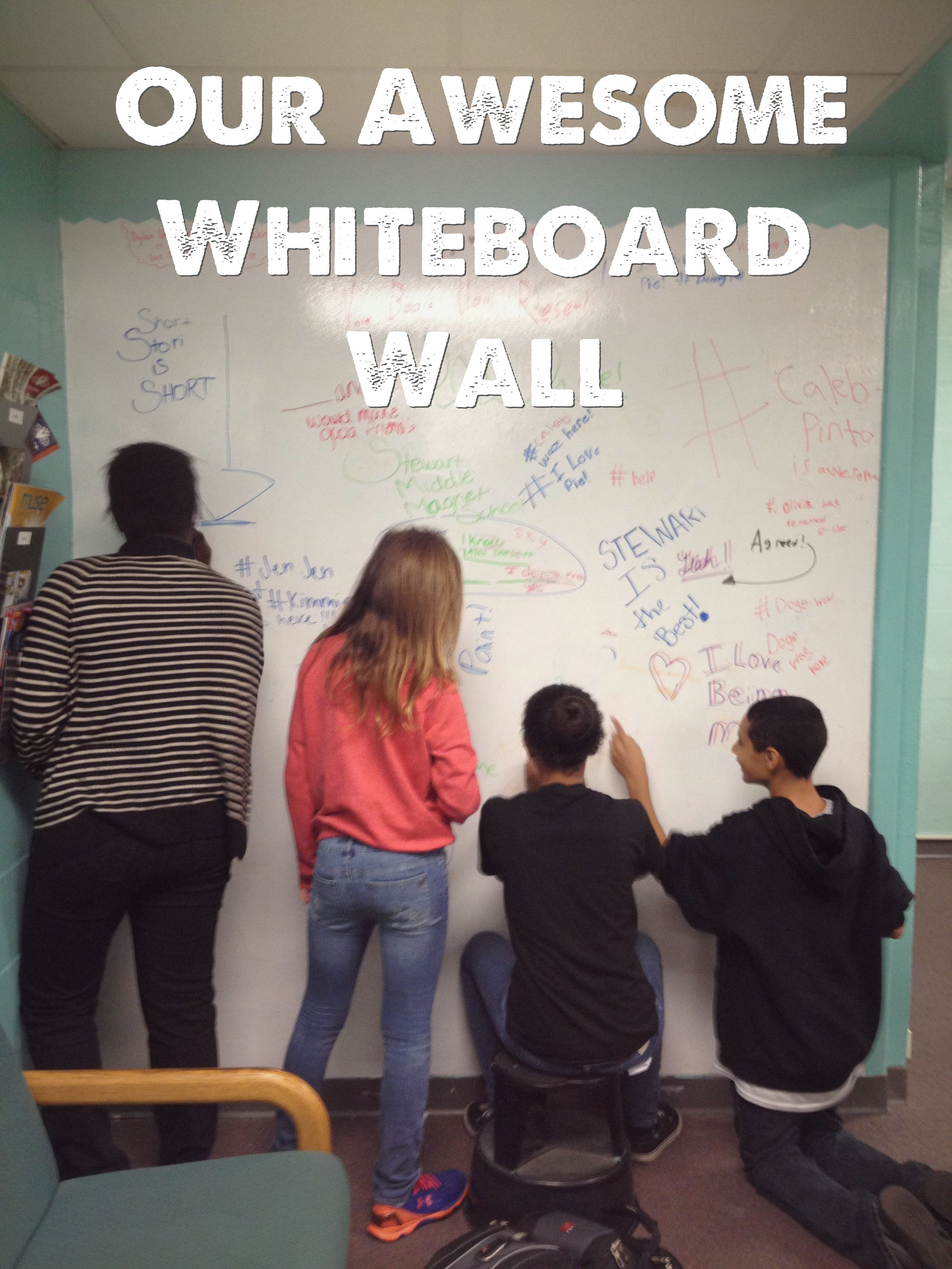 How to Create an Awesome Whiteboard Wall