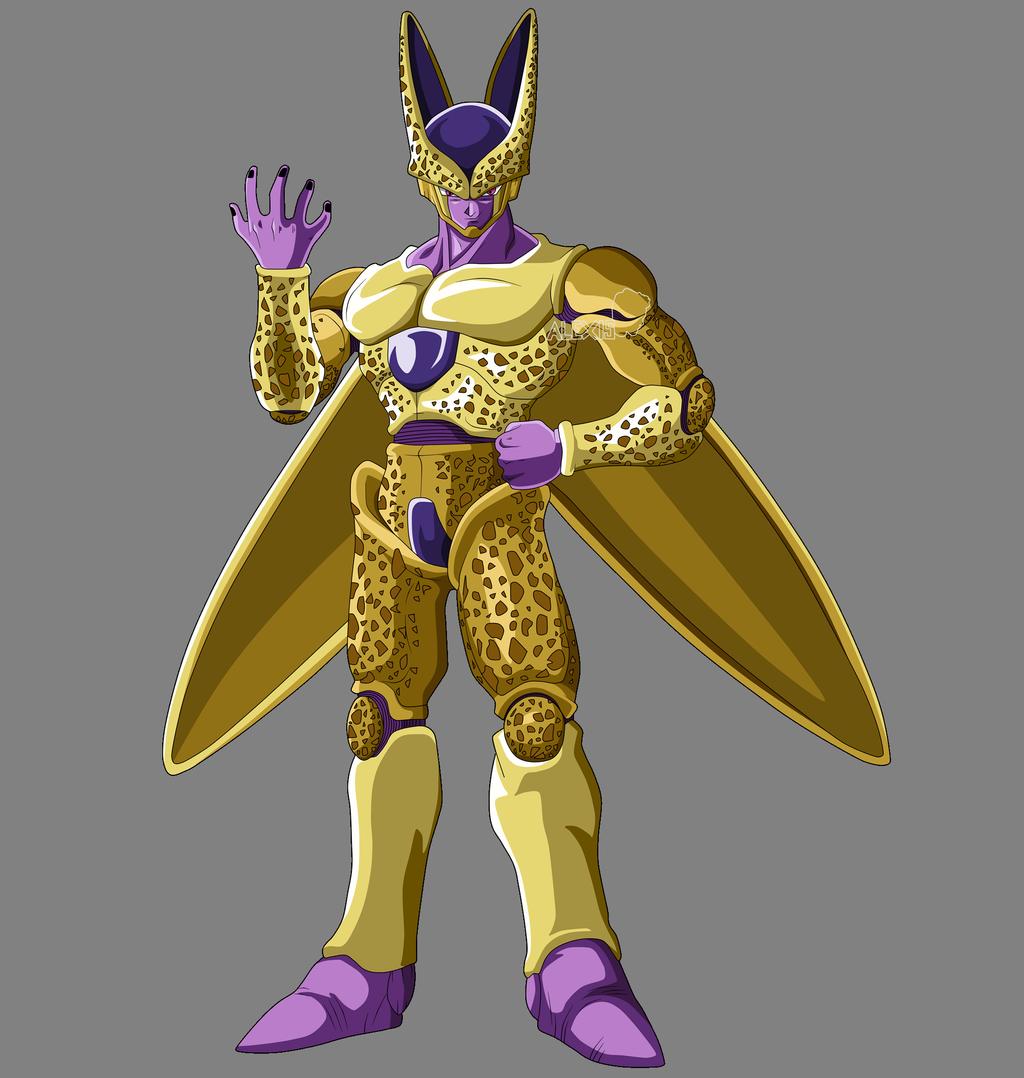 Golden Cell By Alexelz On Deviantart Anime Dragon Ball Super Dragon Ball Super Art Dragon Ball Super Manga