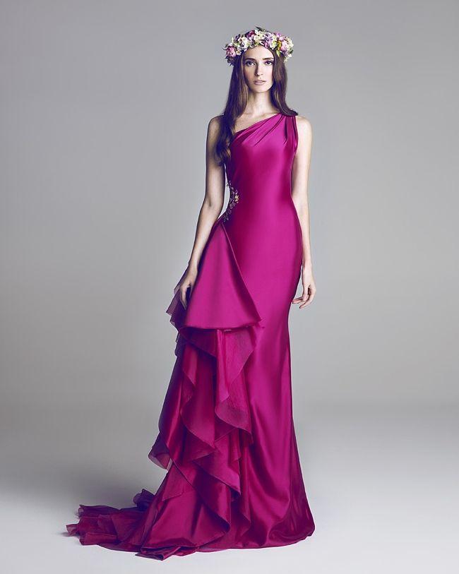 Wedding Gowns by Hamda Al Fahim   Vestidos de fiesta largos ...