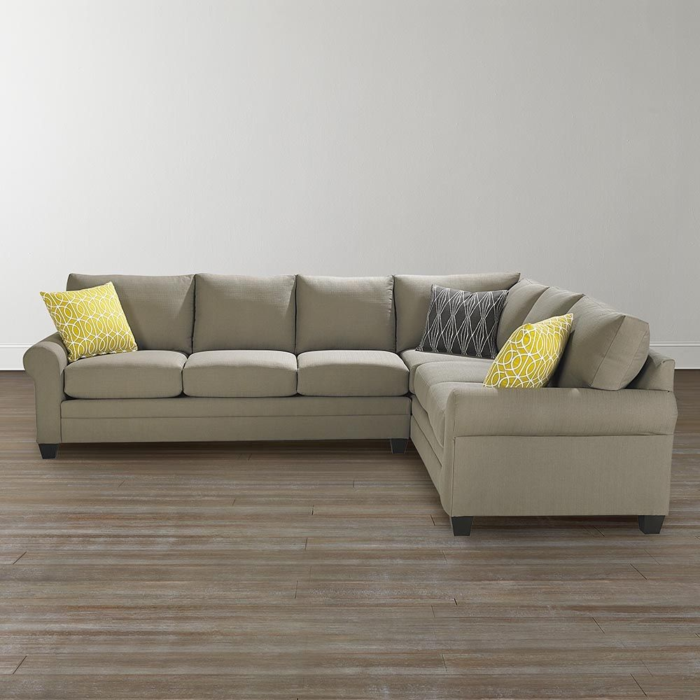 Cotton Twill Sectional Sofa httpml2rcom Pinterest Apartments
