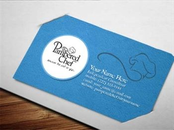 Business Card Examples Design For Pampered Chef Home Cur Clients Cards