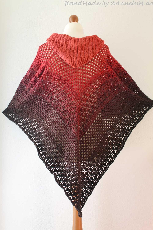 Poncho Haltija Poncho Crochet Patterns Crochet Und Coat Patterns