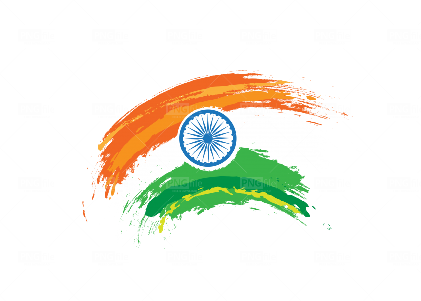 Indian Flag Png Free Download Photo 663 Pngfile Net Free Png Images Download In 2020 Indian Flag Png Abstract