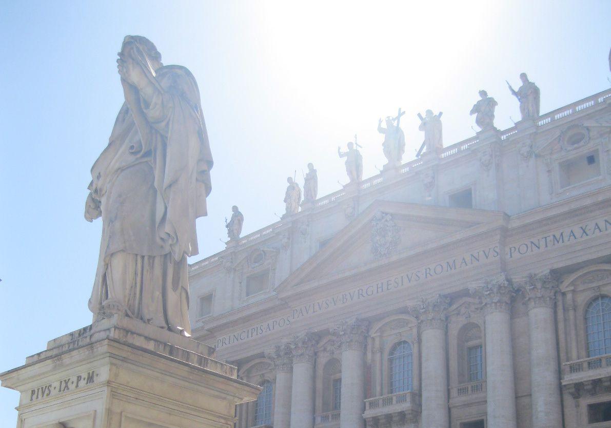 Piazza San Pietro en Città del Vaticano
