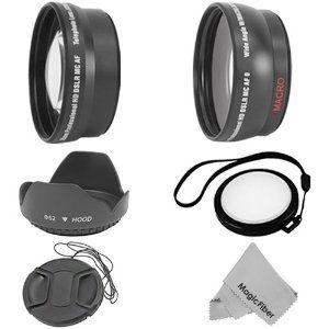 Essential Kit For Nikon Dslr Cameras D7000 D5100 D5000 D3200 D3100 D3000 D80 D60 D40 Includes 52mm 0 45x Wide Ang Nikon Dslr Camera Nikon Dslr Dslr Camera