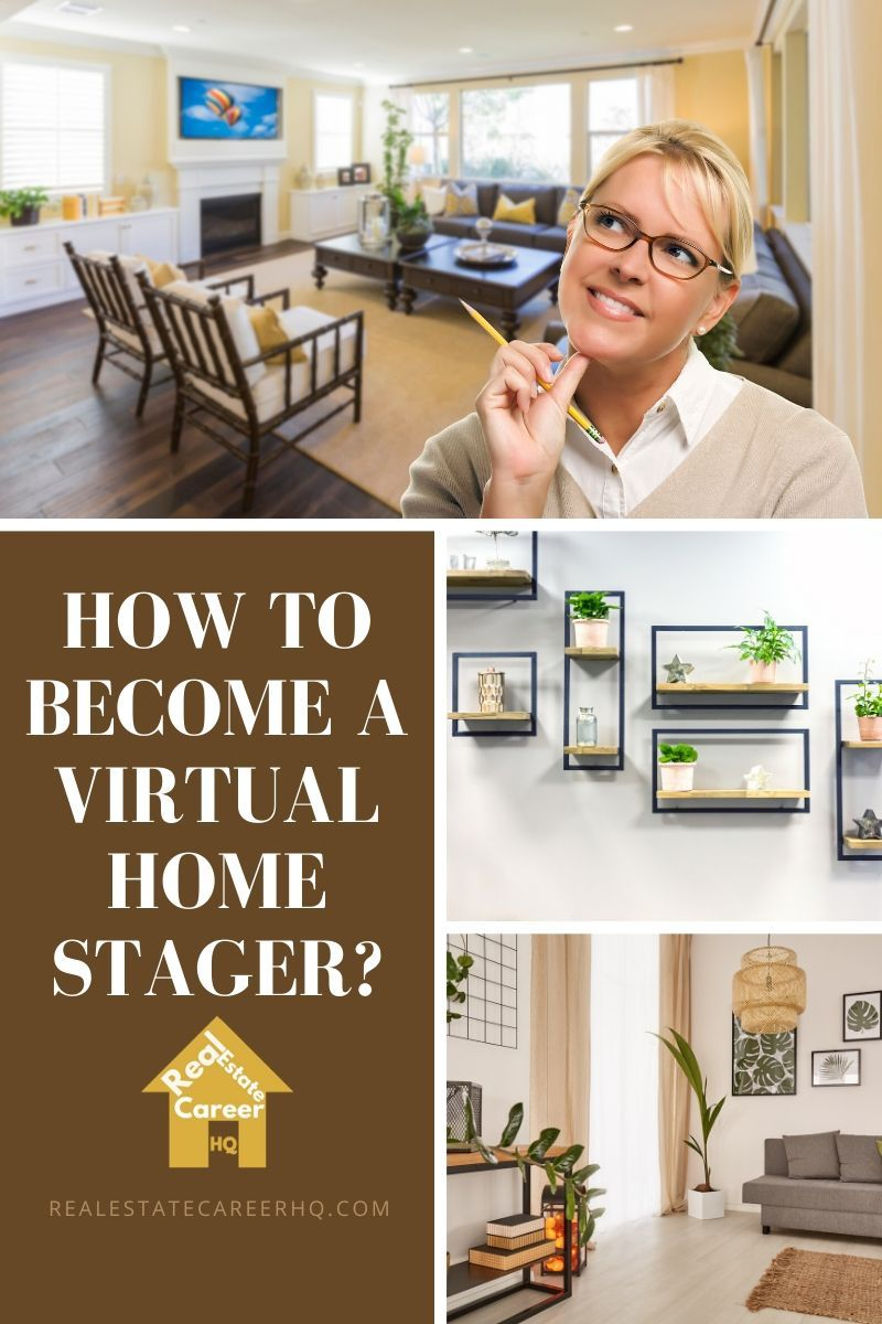 How To Become A Virtual Home Stager Virtual Staging Home Staging Staging