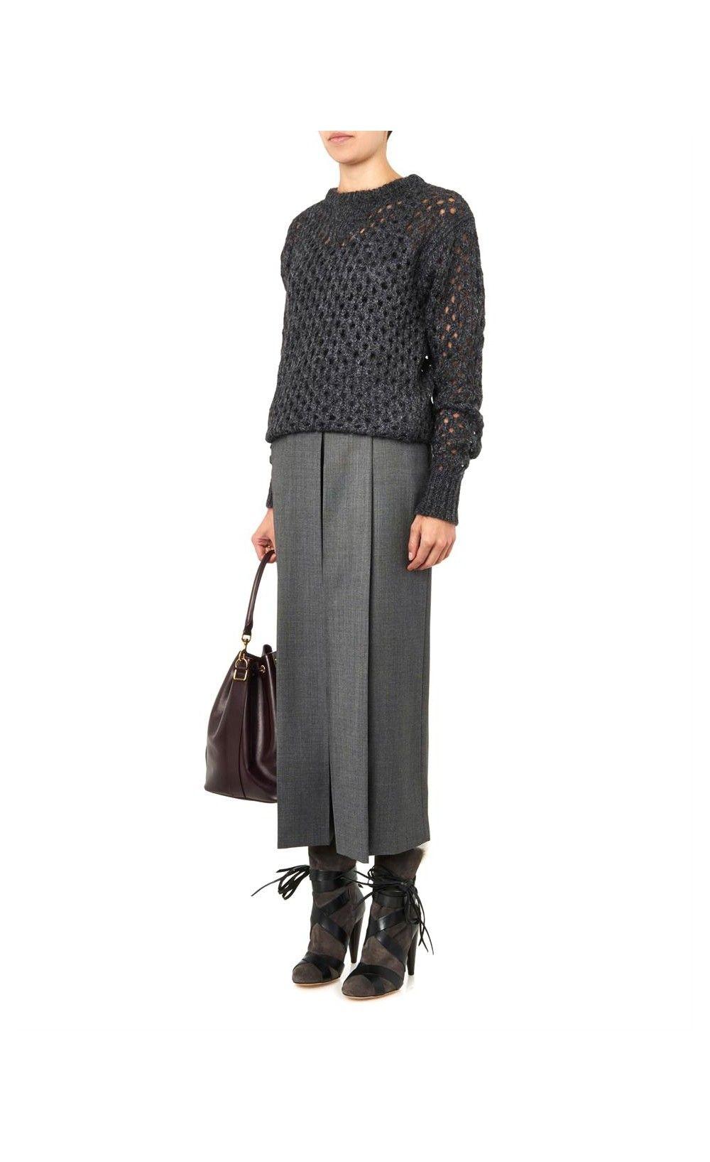 Isabel Marant Neta Fur-Trimmed Suede Boots - Isabel Marant #inspiration #BlackFriday #IM