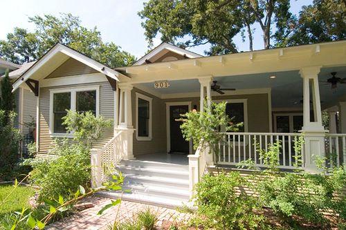 California Bungalow Front Porch
