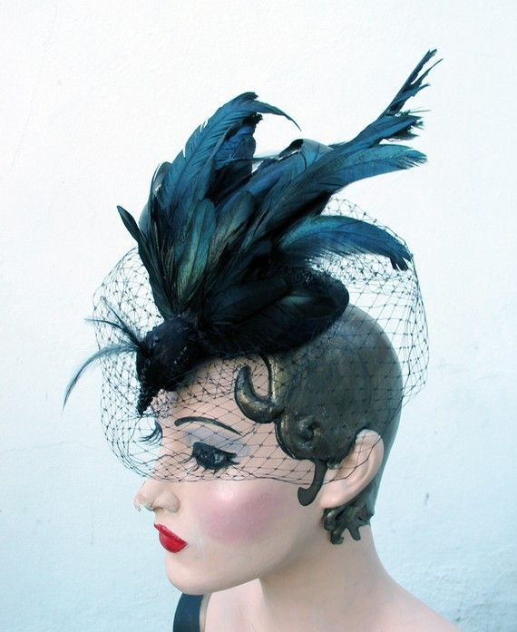 Etsy finds  Hats and fascinators! – Macaron Hearts  233590bf2ed