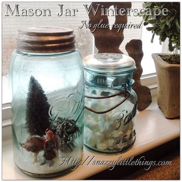 6 quick  easy Christmas home decorating projects (Shabby Art - christmas home decor