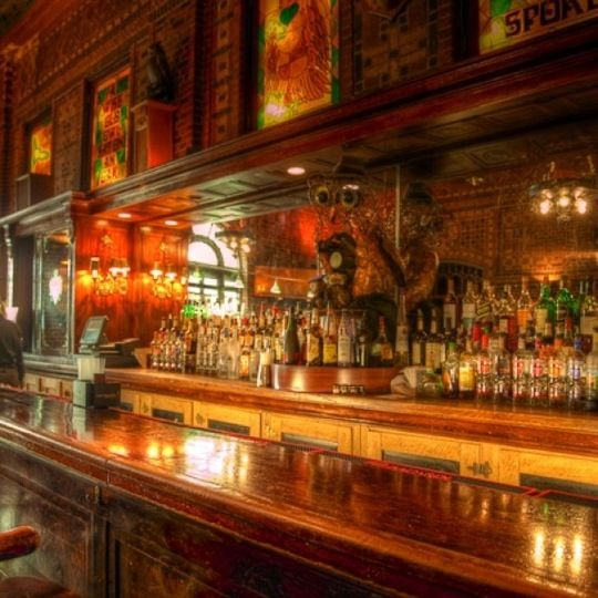 The Owl Bar In Baltimore, MD. The Owl Bar Was The Most