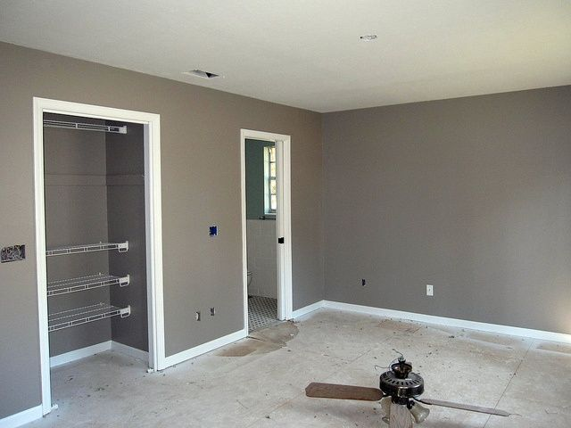 Behr Fashion Gray  Seriously in love with this color  Just finished     Behr Fashion Gray  Seriously in love with this color  Just finished  painting it in the dining room   Leah