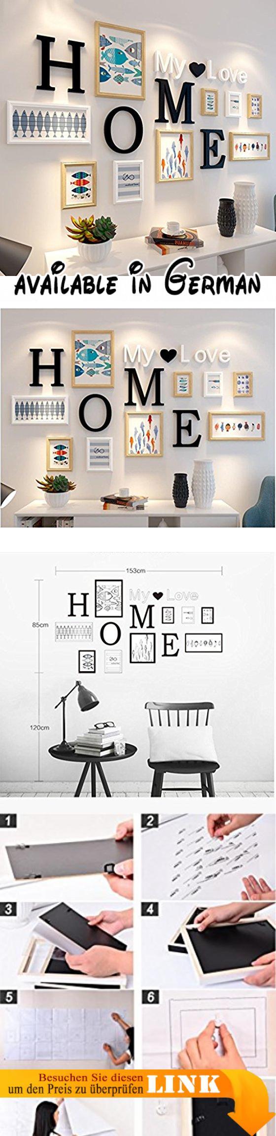 Dekorrahmen 9 teile / sätze Collage Bilderrahmen Set, Vintage ...