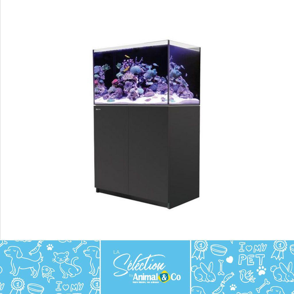 Aquarium Red Sea Reefer 250 Noir Avec Meuble Animaux On