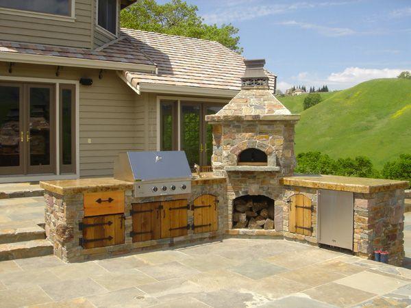Un angolo di cucina all aperto consigli per la casa e for Piani di casa all aperto