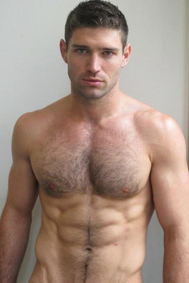 Love hairy chest