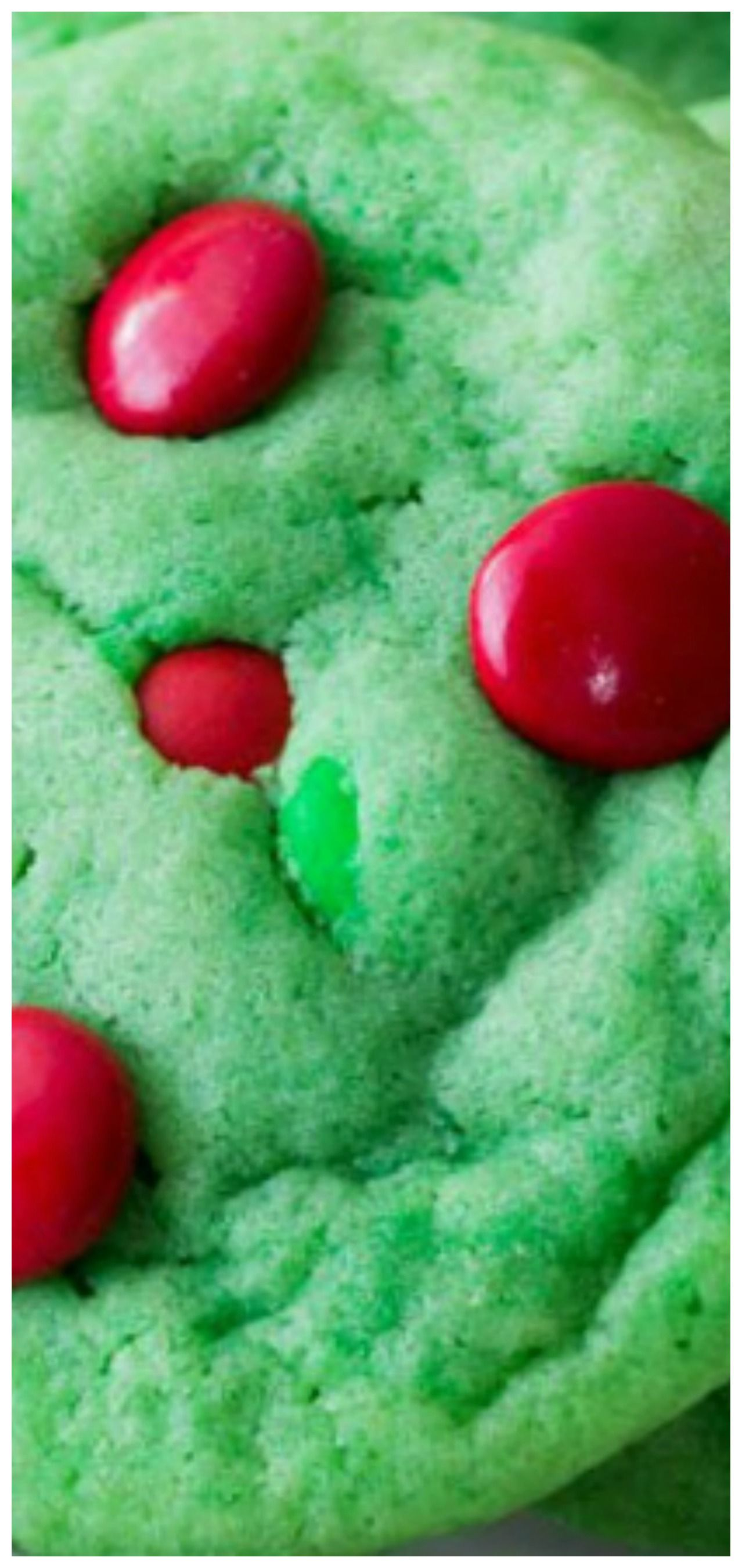 Grinch M M Cookies Recipe Cookie Canister In 2019 Recipes
