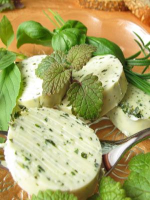 Fresh Herb Butter: 1 stick of unsalted butter, softened,   4 tsps each chopped parsley, basil (any variety), oregano, thyme,   1 tsps lemon zest,   salt & pepper. *Put the butter, herbs, salt and lemon zest in a bowl and mix together. Transfer to a piece of waxed or parchment paper and roll into a log or place in a small bowl and refrigerate until firm. Slice and serve with fresh corn on the cob, steak or bread.