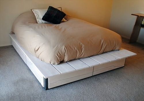 34 DIY Ideas: Best Use Of Cheap Pallet Bed Frame Wood   Pallet Furniture