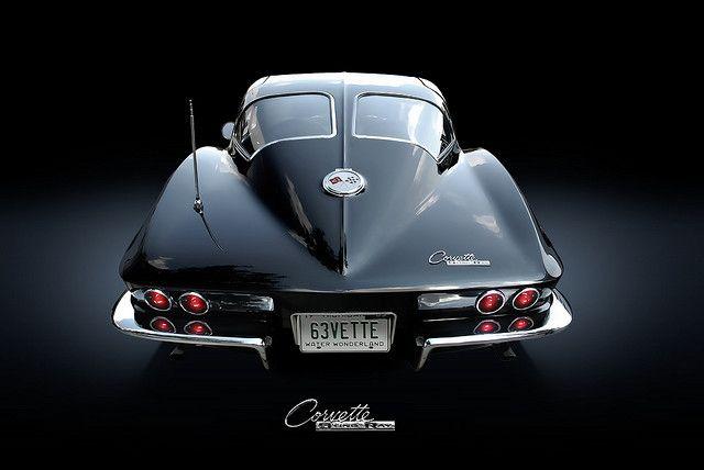 Corvette 63 split window