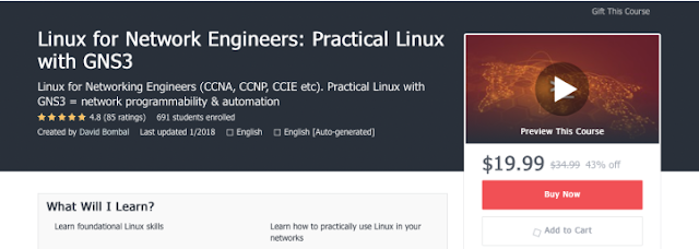 Linux for Networking Engineers (CCNA, CCNP, CCIE, etc