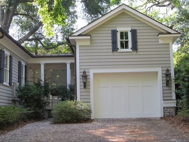 detached garage with breezeway - Google Search