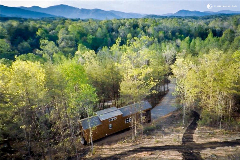 Cabin rental with hot tub near lake lure mountain cabin