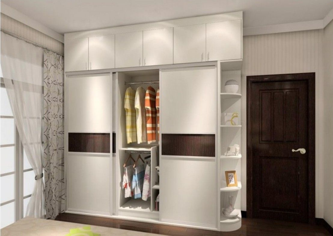 Fixed Three Doors Sliding Wardrobe Id562 Door Designs Product Design
