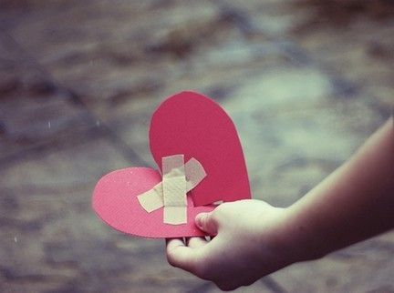 """""""Only Time Can Truly Mend a Broken Heart.""""  The child holding his or her broken heart symbolizes the effects of Ted's greediness on the Harris family. After Ted is honest with his wife and sons, the healing process of their broken relationships commence."""