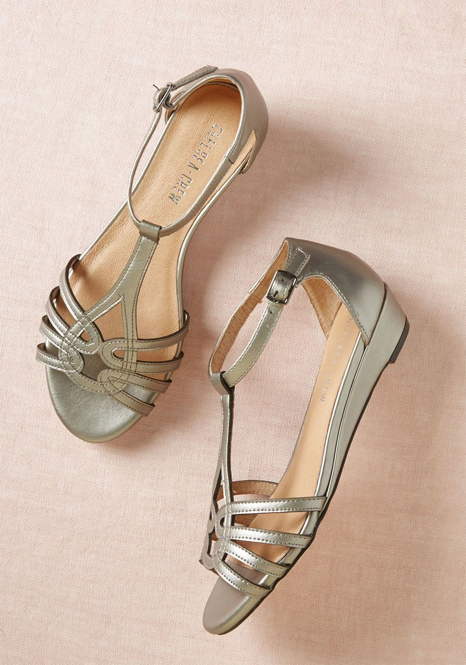 50d2f2f197ccd0 Chelsea Crew Wanna Prance With Somebody Sandal in Silver