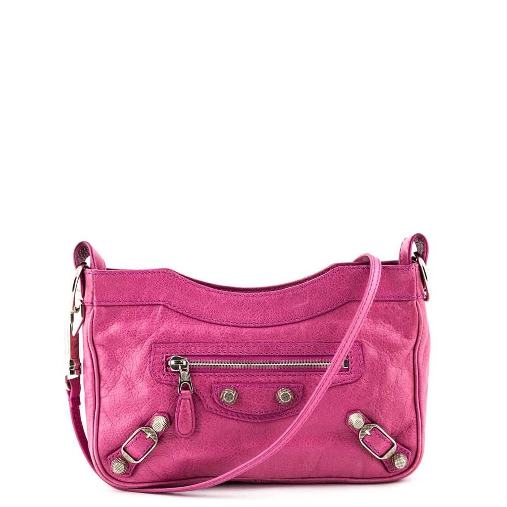 Balenciaga Sorbet Lambskin Giant 12 Hip Bag Designer Bags Canada