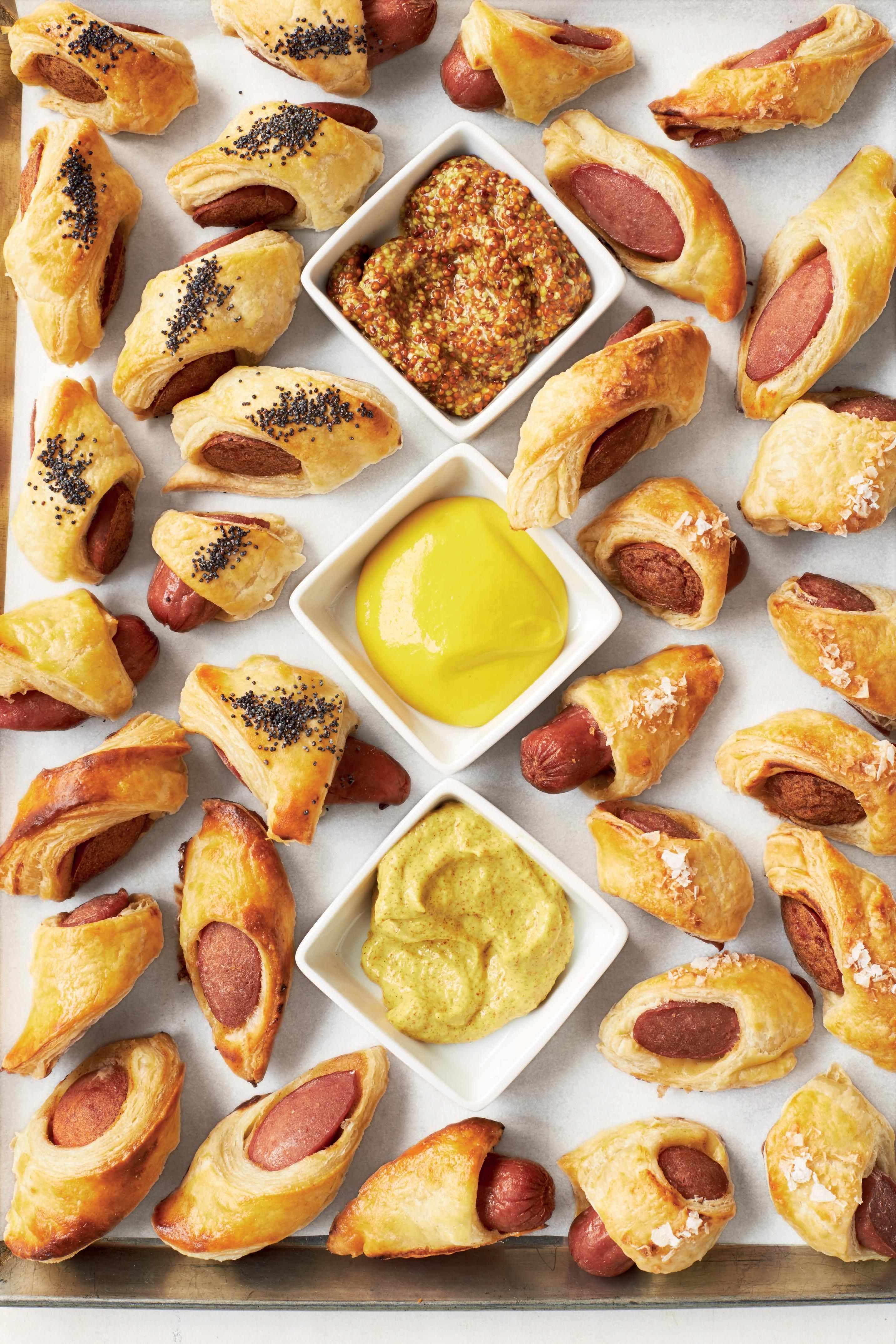Photo of Football Food: Martha Stewart promises her Pigs in Blankets are unfussy crowd-pleasers