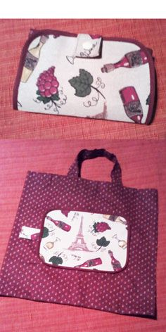 2b49e5dca Bolsa ecológica plegable, foldable eco bag, | embolsarte | Pinterest