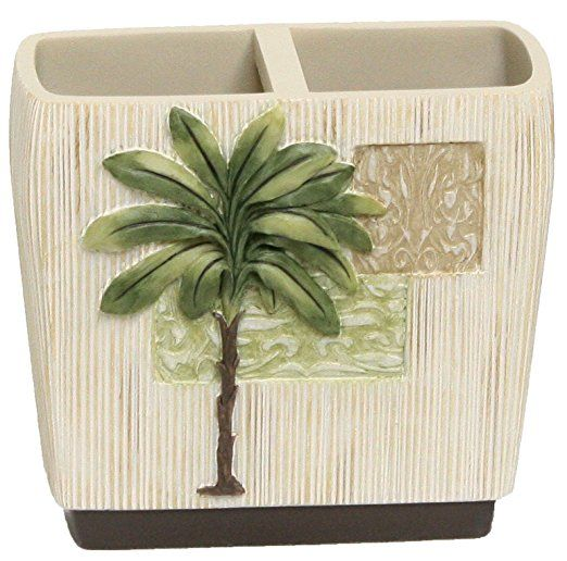 Bacova Citrus Palm Toothbrush Holder by Bacova Guild