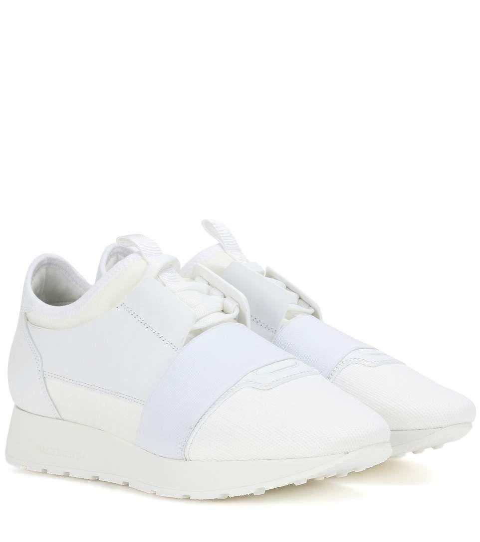 white balenciaga runner