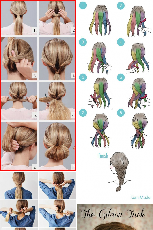 Cute Easy Hairstyles Updos School Short In 2020 Easy Hairstyles Updo Pictures Easy Hair Updos