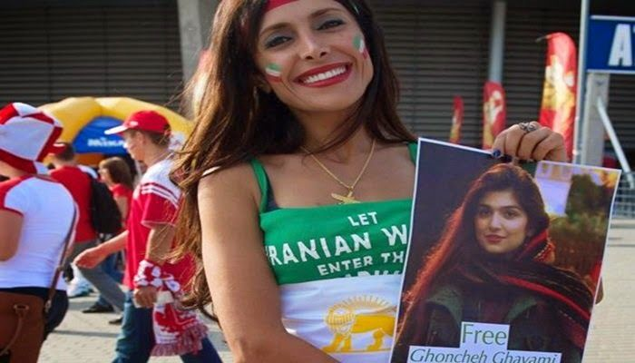 VISTO DAL basso    : VOLLEY & SOCIETA'  Anche le donne iraniane ammesse...