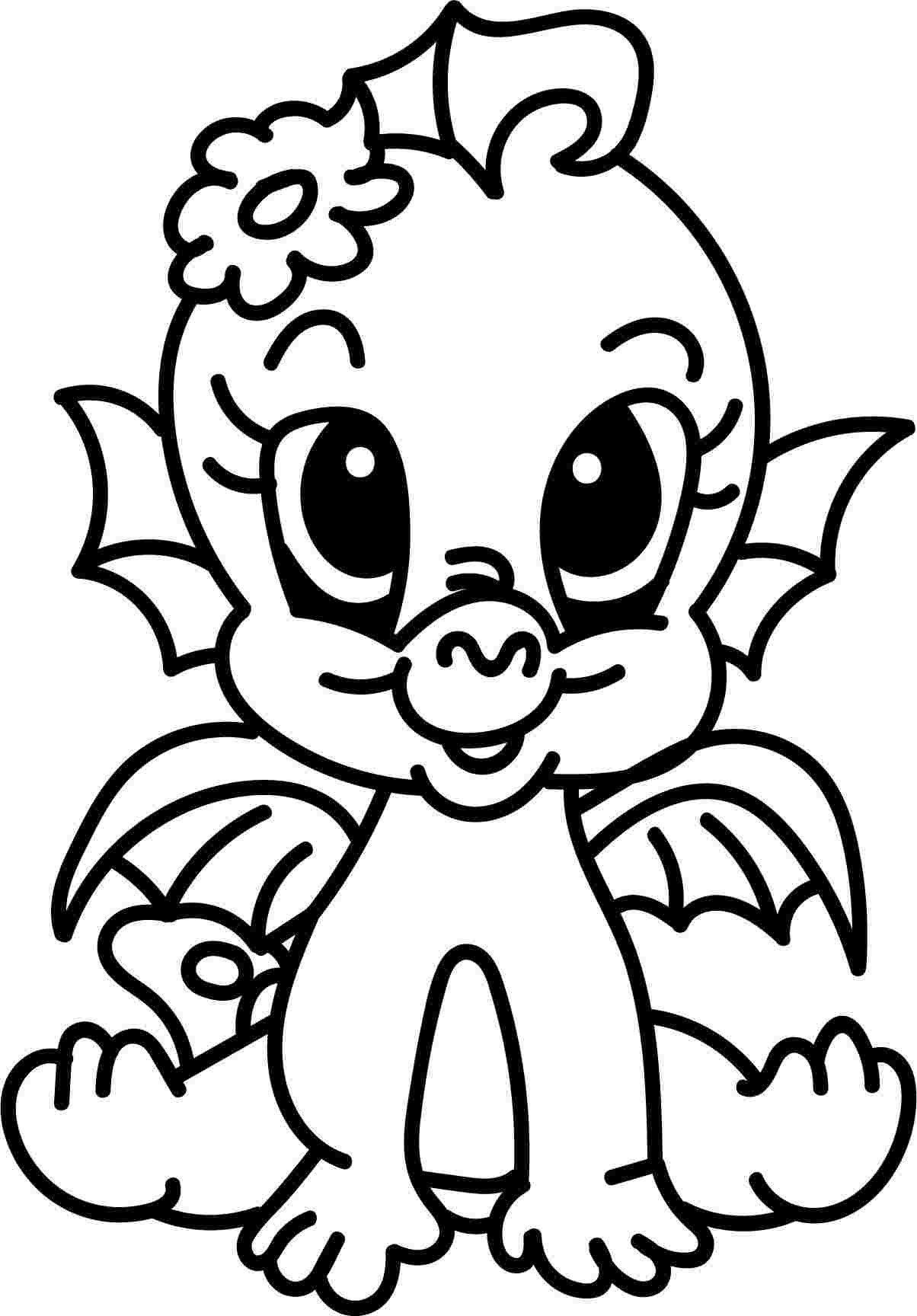 Coloring Pages for Kids Dragons Coloring Pages Colouring ...