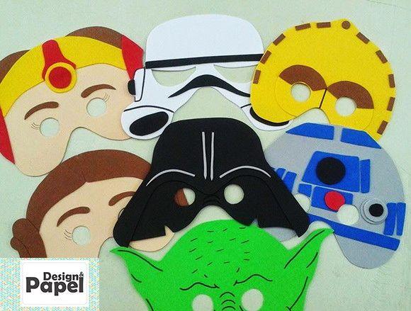 c8ac4404e00a77 Máscaras Star Wars produzidas em E.V.A <br> <br>Modelos Disponíveis ...