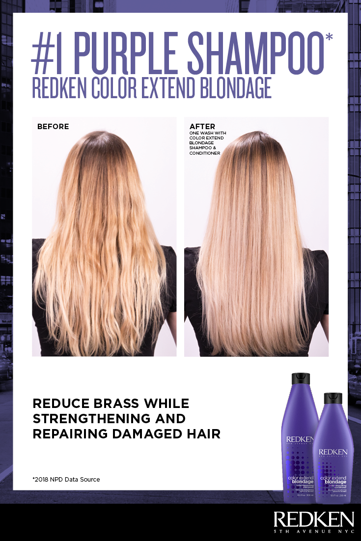 Learn More About The 1 Purple Shampoo For Blonde Hair Redken Color Extend Blondage Purple Shampoo For Blondes Purple Shampoo Redken Color Extend