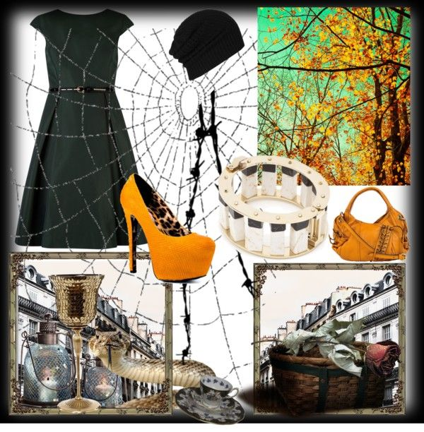 """Halloween Party"" by shahdyaser on Polyvore"