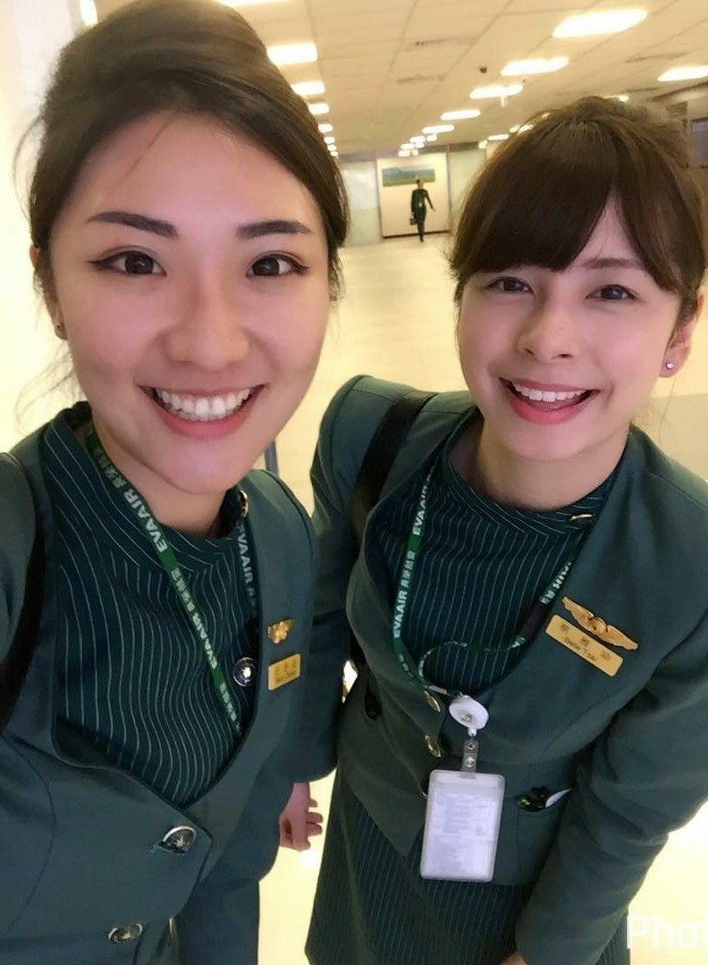 EVA Air Cabin Crew Cabin crew, Flight attendant, Eva air