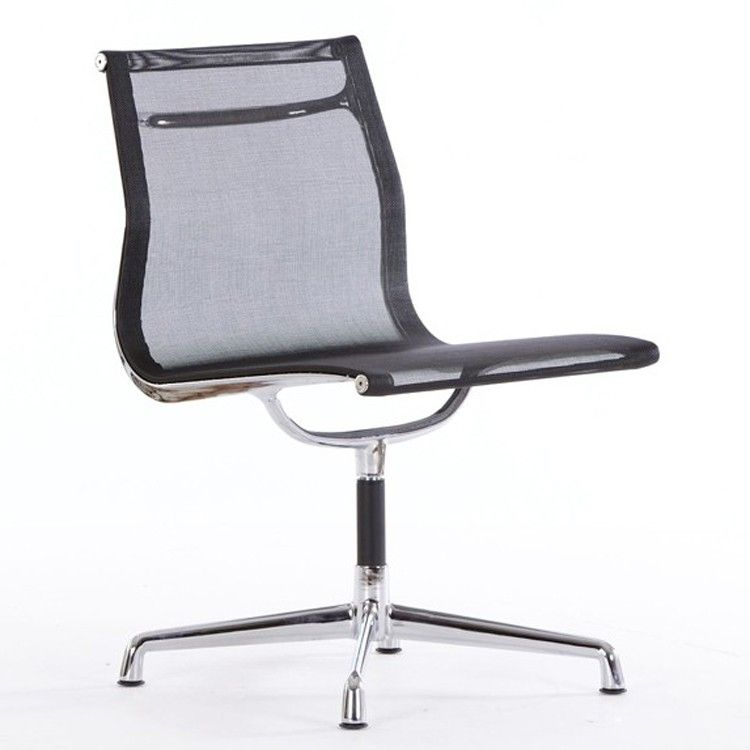 Conference Chair Ea105 Mesh On Glides No Arms Office Chair Chair Conference Chairs