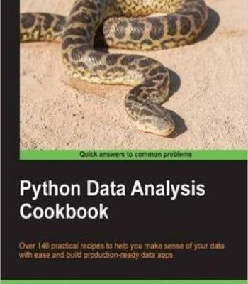 Python Data Analysis Cookbook Pdf Big Data Cookbook Pdf Python