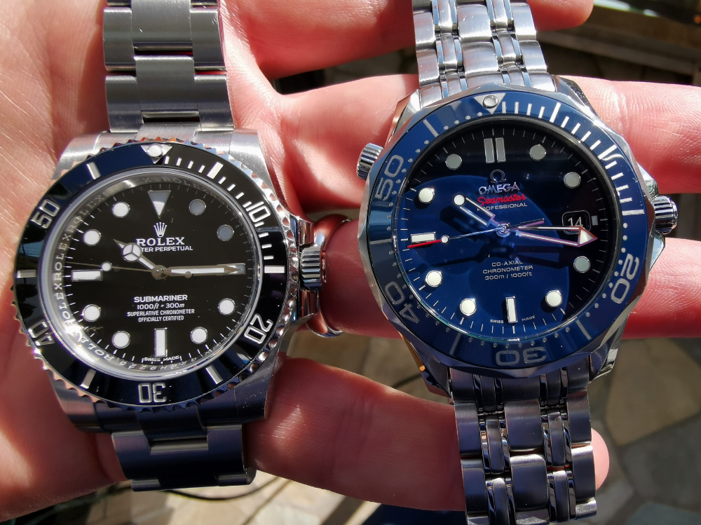 Omega seamaster diver Vs Rolex submariner comparison   Omega seamaster diver. Omega seamaster. Rolex submariner