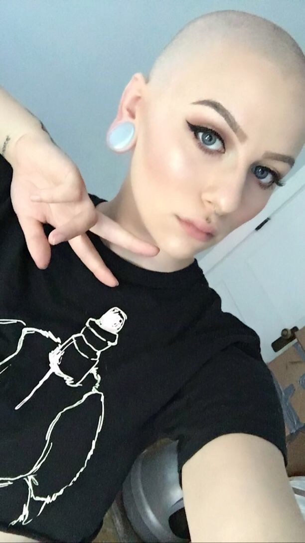 Girl head shaved video